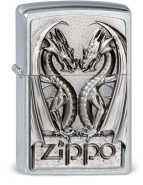 zippo fire lighter dragons